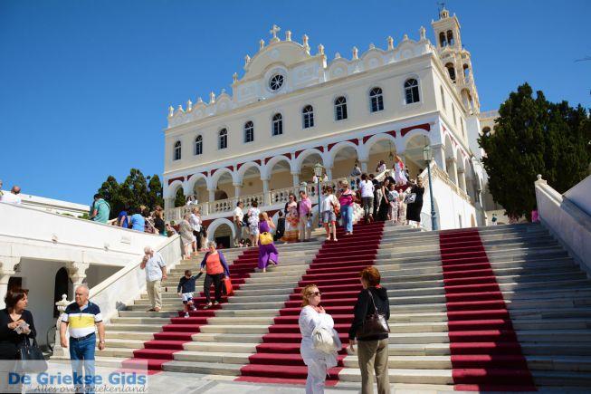 Tinos stad kerk Panagia Evangelistria